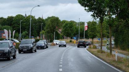 Wegenwerken aan rotonde Rijselseweg met Oudstrijderslaan en Zuiderring