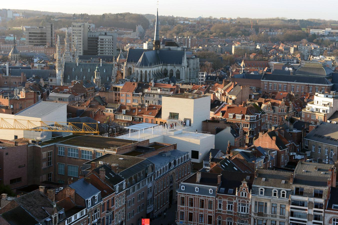 Een zicht op Leuven.