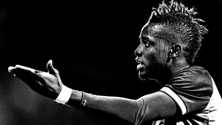 Bertrand Traoré: Kansen creëren en benutten, zo kan ik belangrijker zijn voor Vitesse.' Beeld Klaas Jan van der Weij