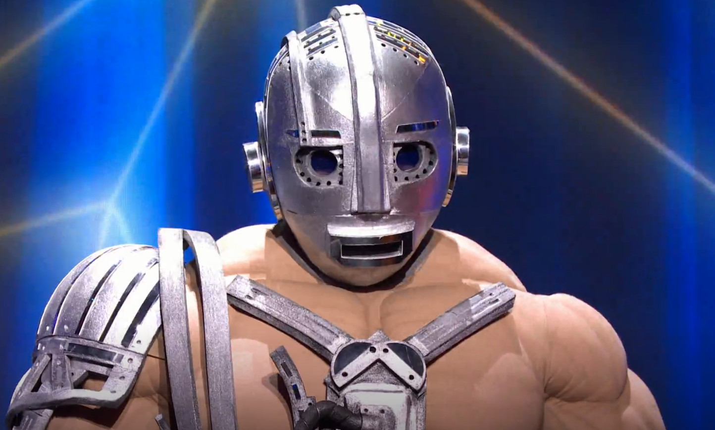 De robot in het vorige seizoen.