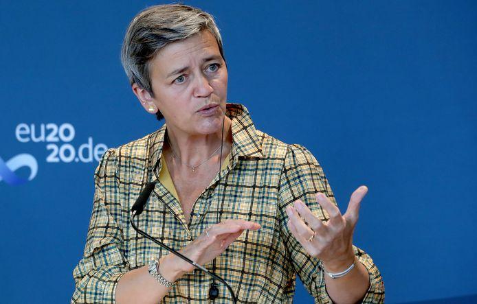 Eurocommissaris voor Concurrentie Margrethe Vestager.