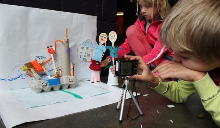 Voor kinderen vanaf 6 jaar is er de workshop stopmotion.