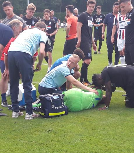 Zware beenblessure voor keeper FC Eindhoven