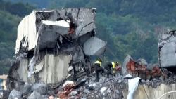 Instorting snelwegbrug Genua: al 38 doden bevestigd, 12 mensen in kritieke toestand