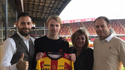 KV Mechelen zet in op de jeugd en bindt ook youngster Rune Paeshuyse aan zich