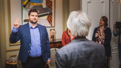 Brent Meuleman legt 94 dagen na verkiezingen eed af als burgemeester