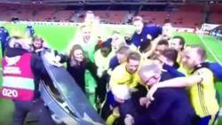 VIDEO: Dit is hoe je viert als je ten koste van Italië naar het WK mag