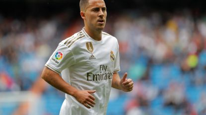 Eden Hazard viert zijn debuut bij Real Madrid met een moeizame zege tegen Levante