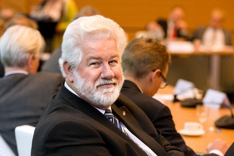 Arend van Wijngaarden, voorzitter van de vakbond CNV  Beeld Novum RegioFoto