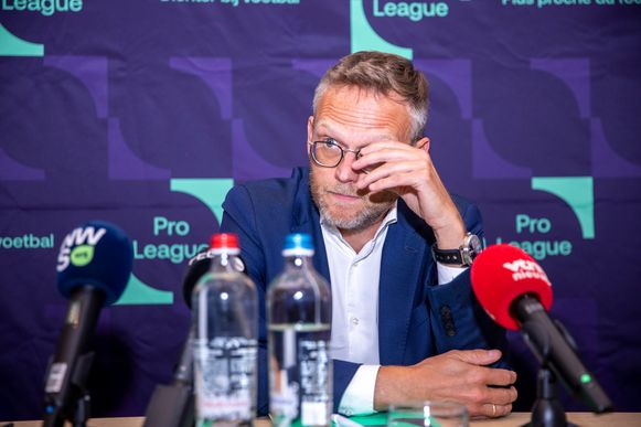 Peter Croonen, voorzitter van de Pro League.