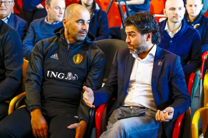 Roberto Martinez et Mehdi Bayat (archives).