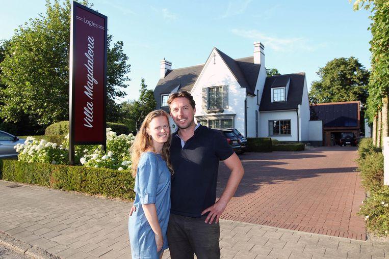 Annelies Cretel en Filip Coppens zijn de eigenaars van Villa Magdalena.