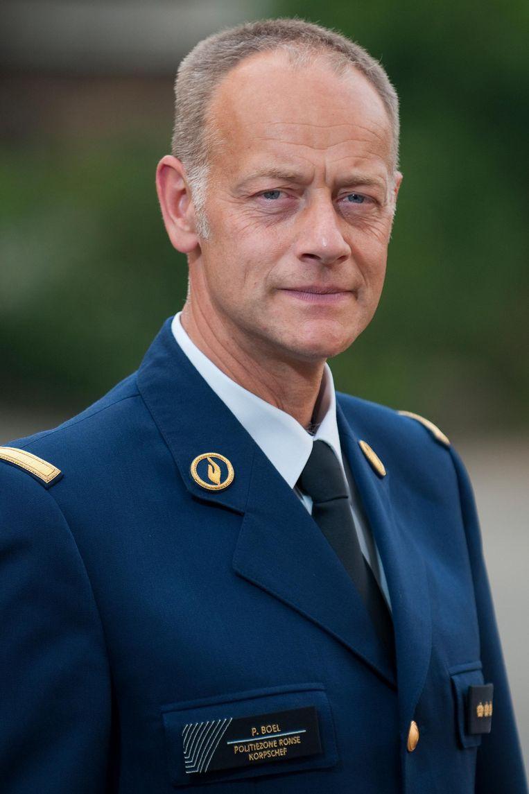 Korpschef Patrick Boel begrijpt de commotie rond de sleutelhanger niet.