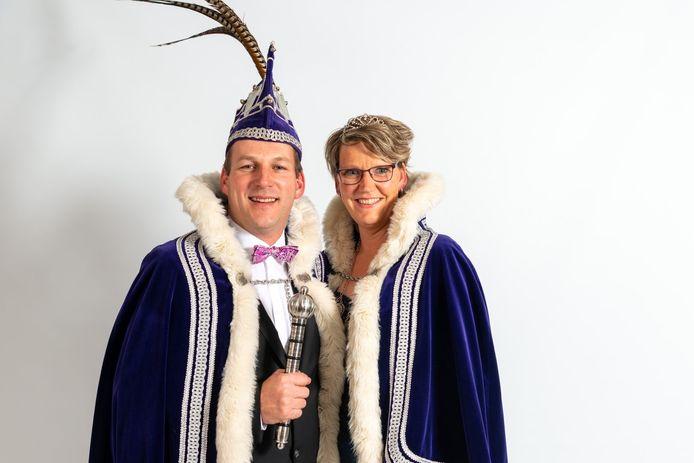 Duizels prinsenpaar: Prins Sleutel en prinses Adriënne