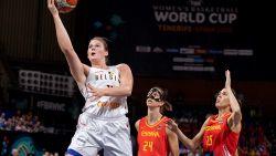 België stunt op WK basketbal! IJzersterke Belgian Cats kloppen Spanje en plaatsen zich voor kwartfinale