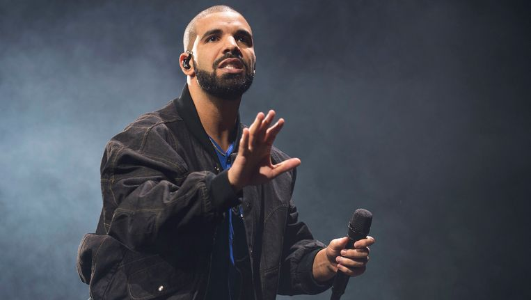 rapper Drake Beeld ap