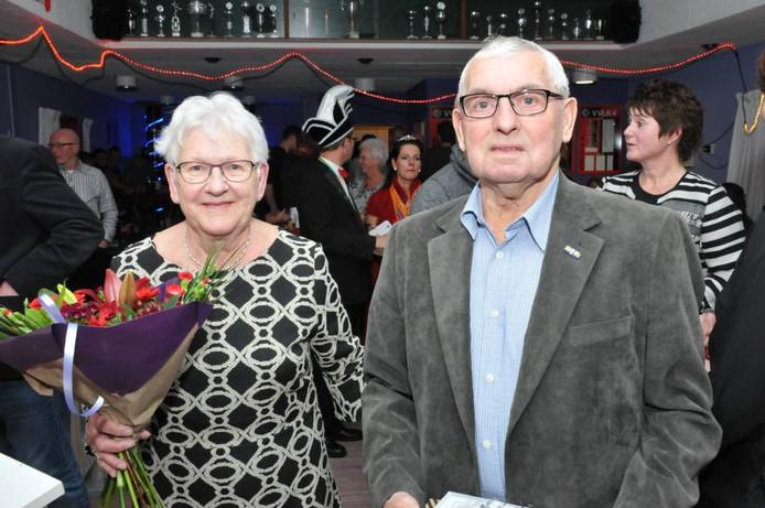 Bertha en Ben Rutjes; nog steeds actief voor VVLK. Foto Henk Baron