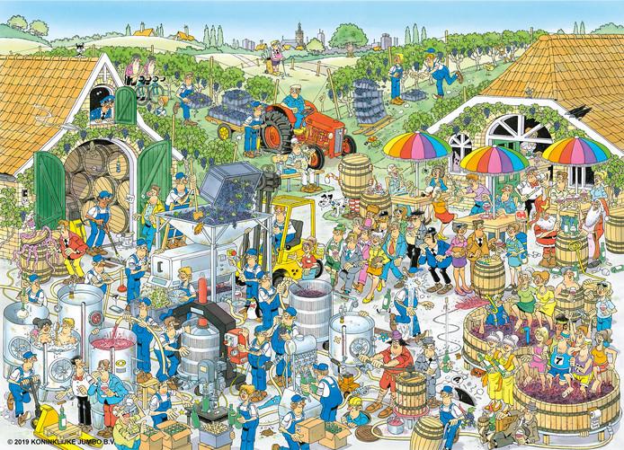 De Wijnmakerij, getekend door Rob Derks uit Nijmegen.