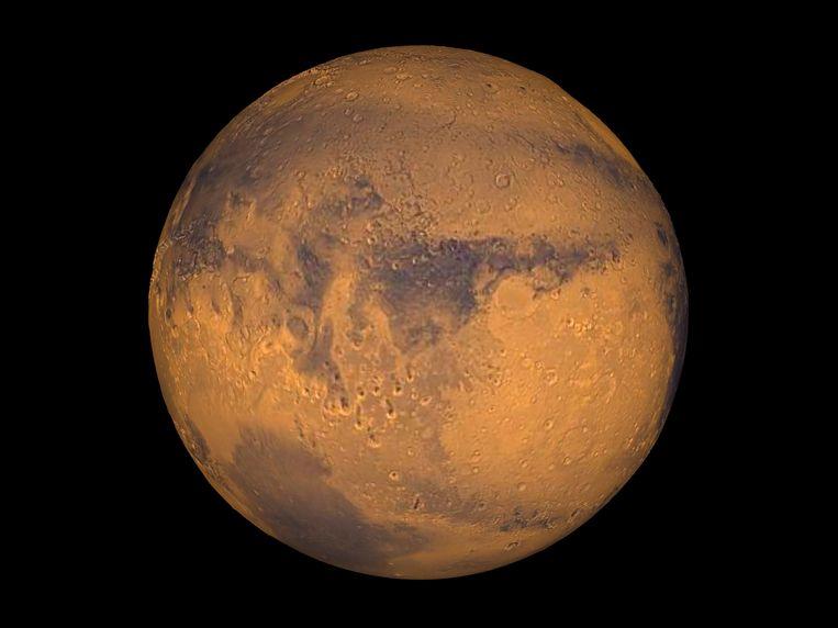 De planeet Mars. Beeld reuters