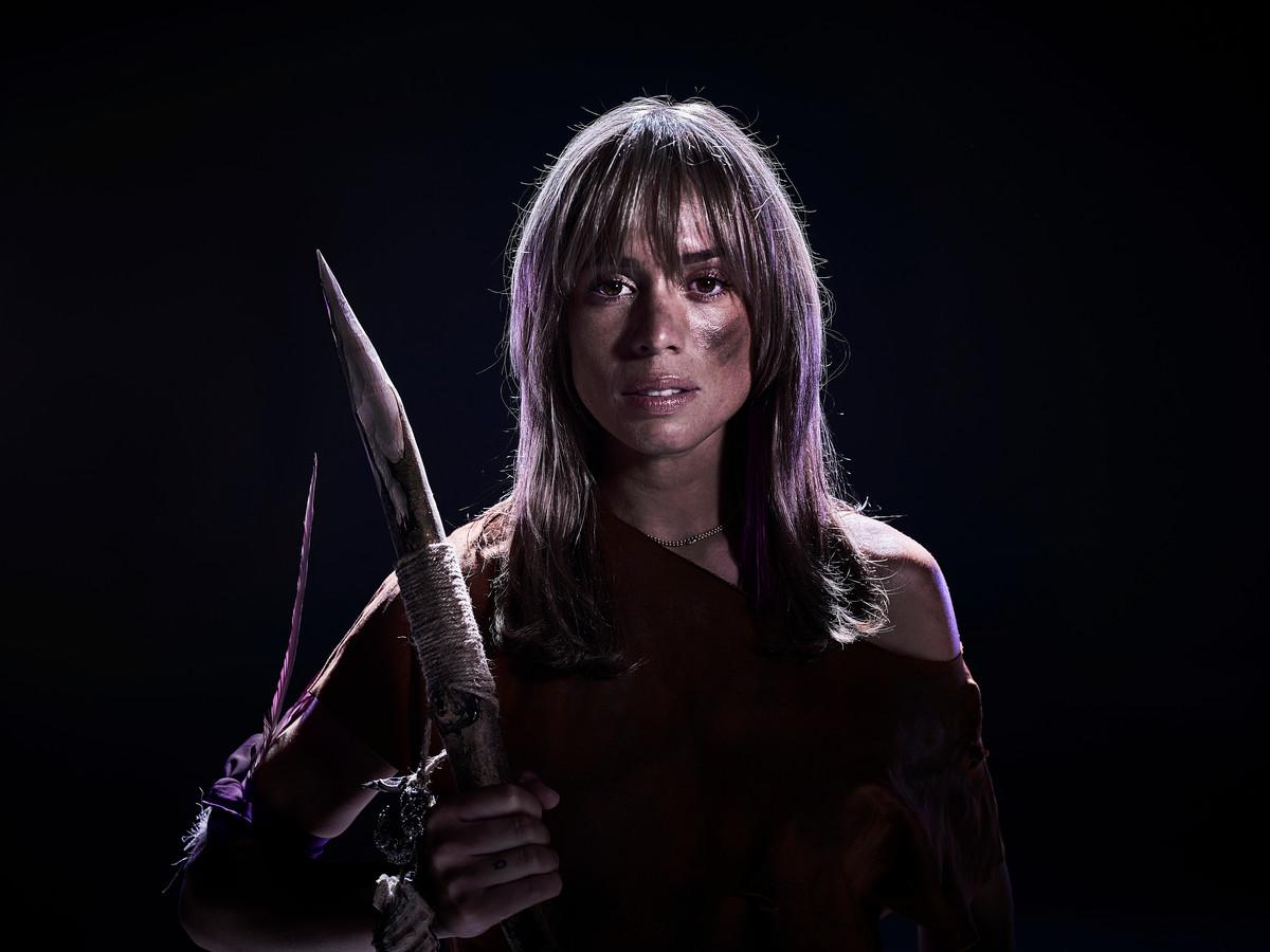 Nienke Plas als 'Robinson'