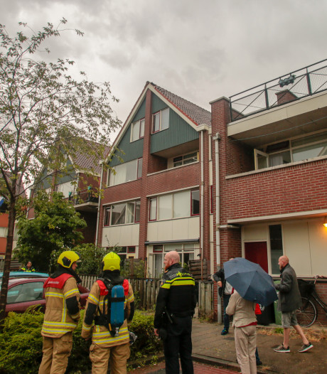 Bliksem slaat in woningen in Papendrecht en Hardinxveld-Giessendam