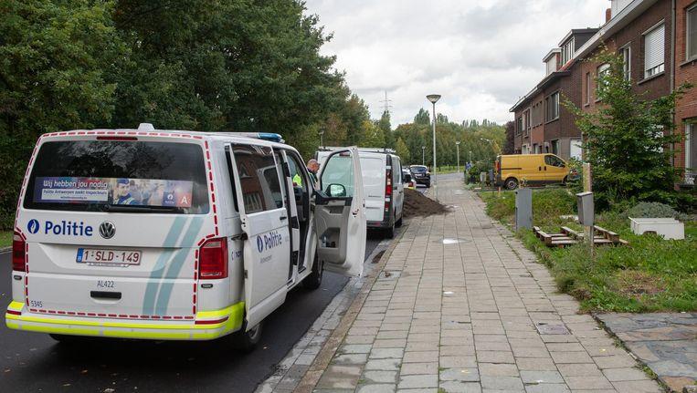 De Sprangweelstraat in de wijk Schoonbroek. Hier werd de bloedende vrouw aangetroffen.
