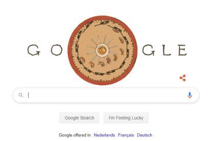 Belgische uitvinding schittert vandaag in 41 landen op Google's homepage
