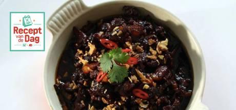 Recept van de dag: Babi ketjap à la minute van oma Betty