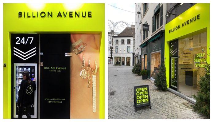 De eerste fysieke winkel en automaat in Antwerpen.