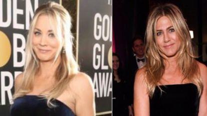 """Fans zien in Kaley Cuoco plots de kloon van Jennifer Aniston: """"Wanneer is dit gebeurd?"""""""