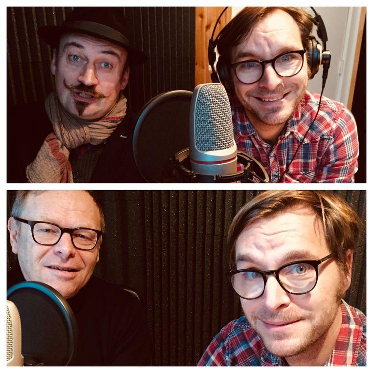 Bert Kruismans en Dirk Deferme werken mee aan de podcast van 'Het Foute Elftal'
