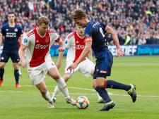 KNVB werkt na Europees succes Ajax aan noodplan voor slot eredivisie