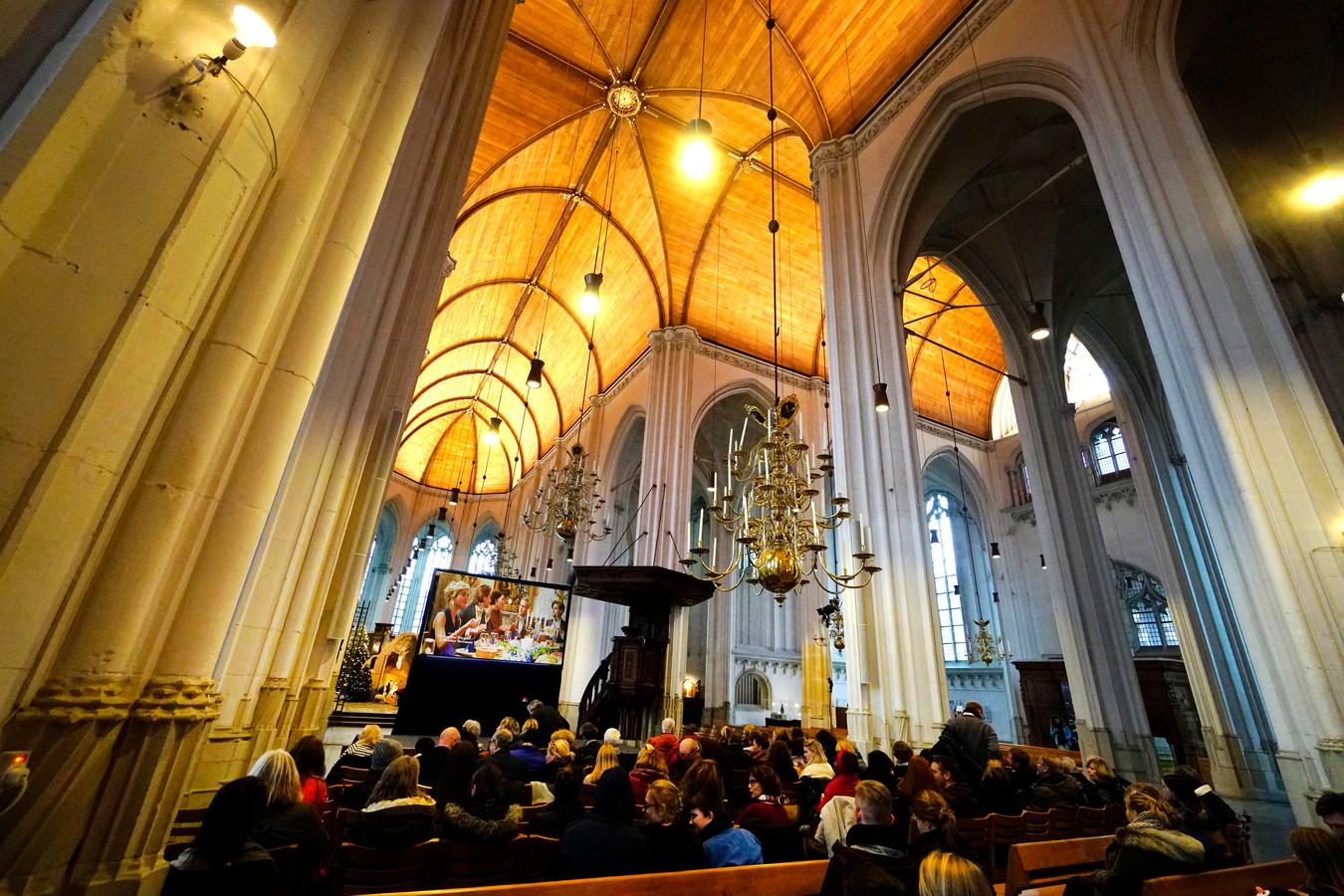 De film Pak van mijn Hart was de opening van de Nijmeegse Winterweken in St. Stevenskerk.