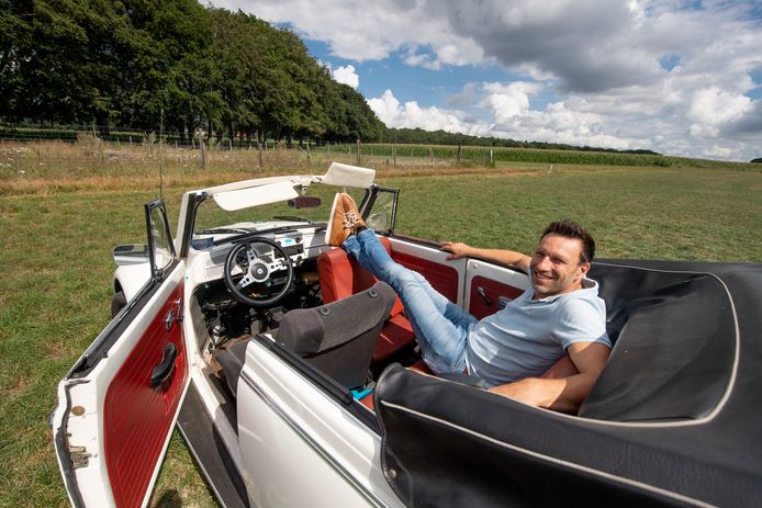 Jeroen de Kok van Kulturhus Holten houdt in september een drive-in op de Holter Es.