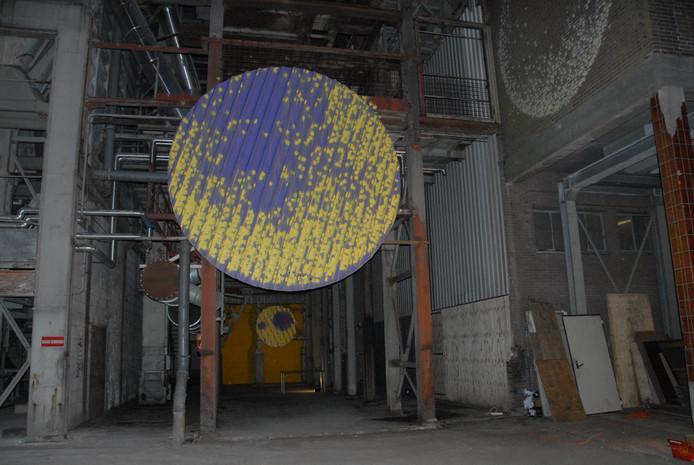 De basis voor de Urban Game Pattern Interactieve muurschildering is gelegd