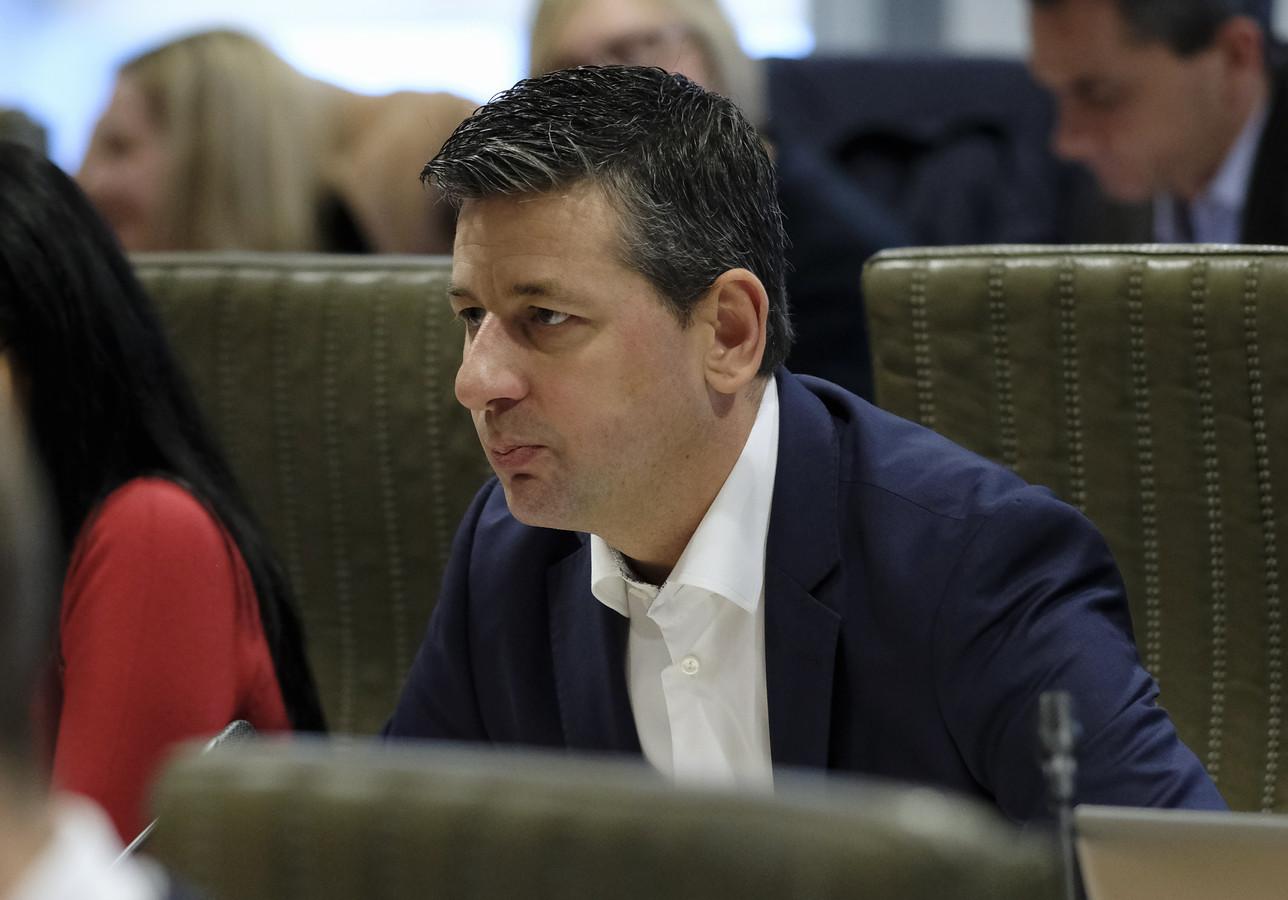 Vlaams Belang-fractieleider Chris Janssens (archiefbeeld).