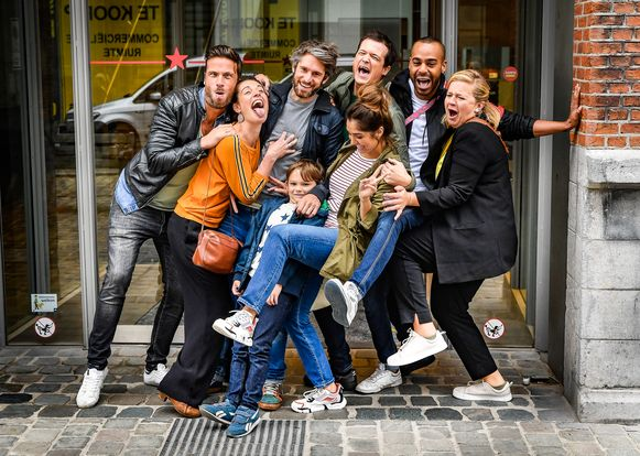 De cast van 'Dertigers'.