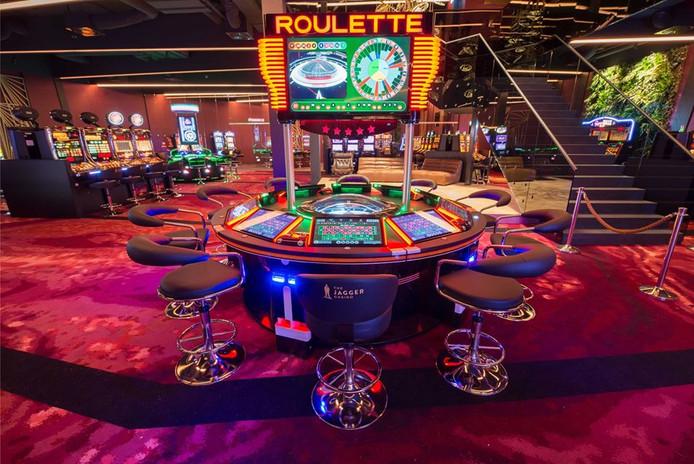 Het casino aan de Damstraat in Spijkenisse.