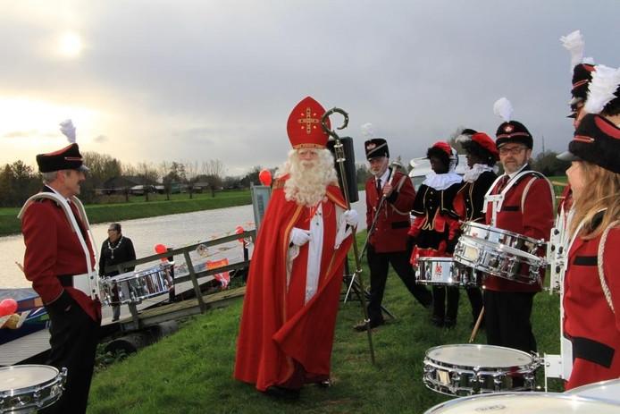 De Sint kwam in 2015 ook al aan in Esch.
