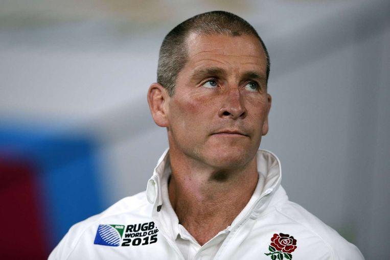 Coach Stuart Lancaster. Beeld afp