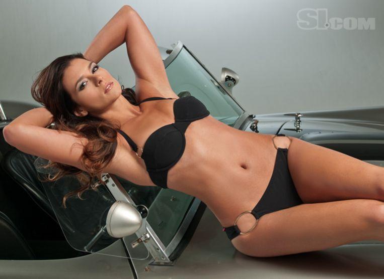 Danica Patrick maakte ook furore in 'Sports Illustrated'.