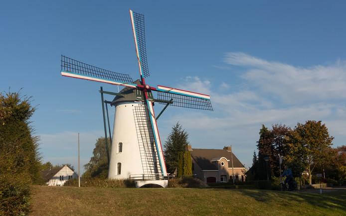De molen in Geldrop.