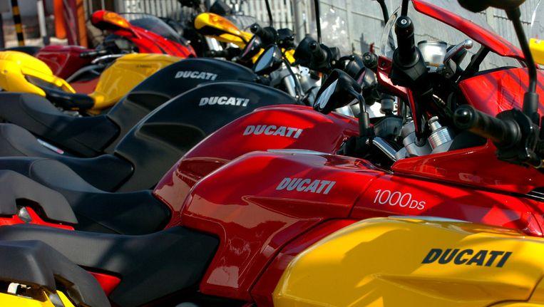Motoren van Ducati. Beeld afp