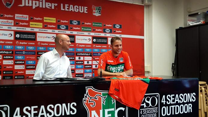 Joey van den Berg komt NEC versterken.
