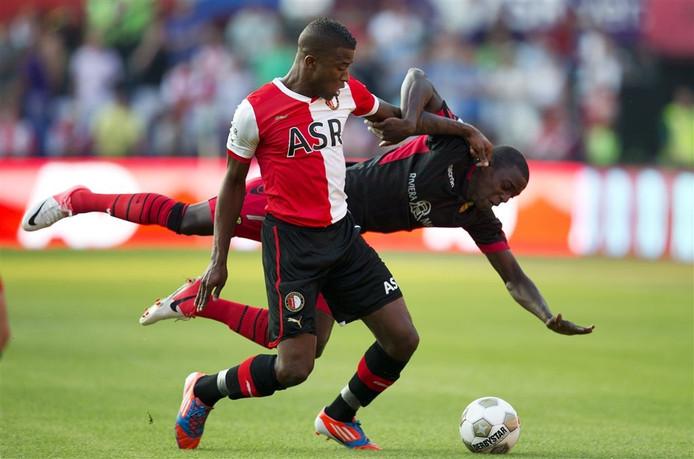 Guyon Fernandez op archiefbeeld. ADO Den Haag, Excelsior, Feyenoord, PEC Zwolle, NAC Breda, ADO Den Haag en nu volgt FC Lienden.