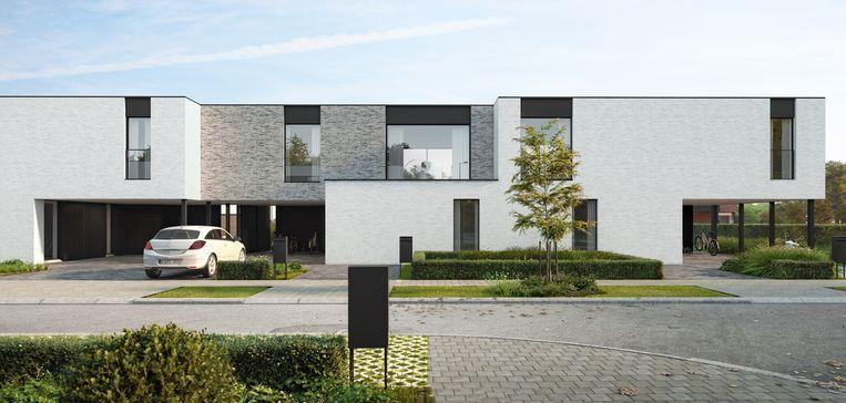 Een conceptbeeld van de nieuwe modulaire Tantum+ woonvorm.