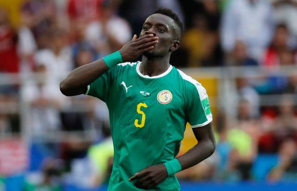Idrissa Gueye was alomtegenwoordig.
