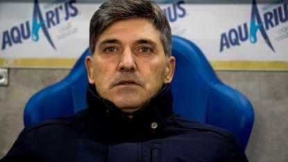"""Onze man in de Luminus Arena neemt alweer afscheid van Mazzu: """"Een trieste aftocht voor een aimabel man"""""""