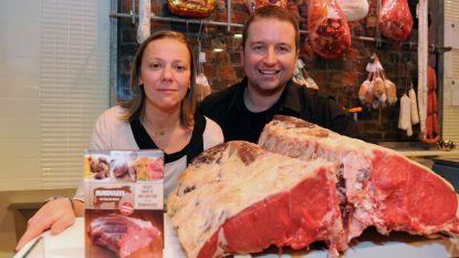 Slagerij Rondou uit Leuven sluit even de deuren als stunt voor campagne rond lokaal winkelen