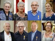 Acht lintjes in gemeente Haaren